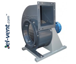 Centrifugal fans with stainless steel body IVWBOH ≤13800 m³/h