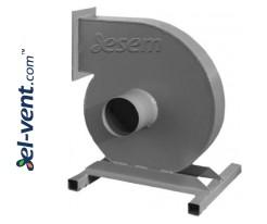 Padidinto slėgio dulkių transportavimo ventiliatoriai IVWPSW ≤10500 m³/h