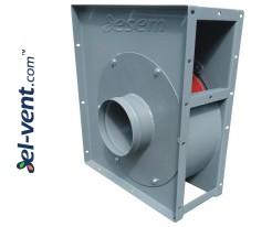 Dulkių transportavimo ventiliatoriai IVWTP ≤4500 m³/h