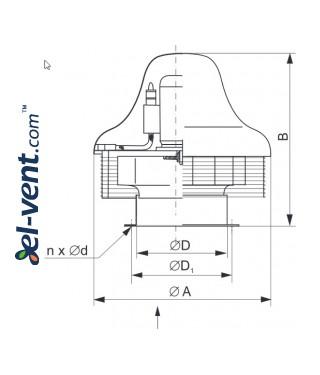 SVPFD EX ≤27720 m³/h - brėžinys
