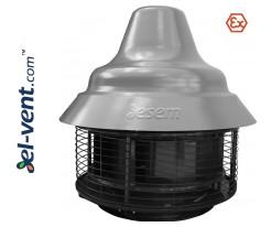 Взрывозащищенные крышные вентиляторы SVPFD EX ≤27720 м³/ч