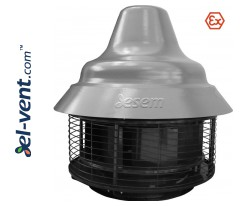 Sprogimui saugūs stoginiai ventiliatoriai SVPFD EX ≤27720 m³/h