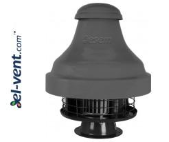 Кислотостойкие крышные вентиляторы SVRUF-BOH ≤3500 м³/ч