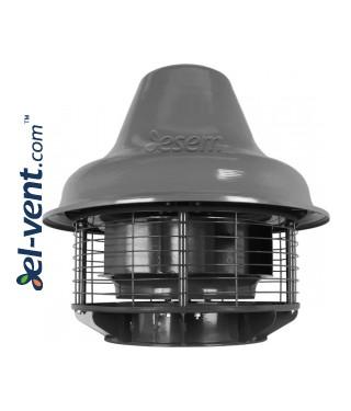 Кислотостойкие крышные вентиляторы SVRUF-POH ≤16400 м³/ч