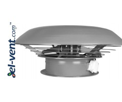 Super efficient axial roof fans SVWOD ≤7370 m³/h
