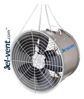 Hanging air circulators WOJ-POWER ≤23800 m³/h