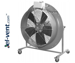 Mobile air circulators ZEF-POWER ≤16900 m³/h
