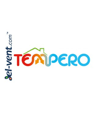 Heat recovery unit Tempero ECO V 450 E BP - Tempero logo