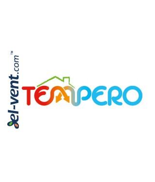 Logo Tempero100, Ø100 mm