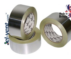 Aluminum foil tape AS291, thickness 120 µm, 4.8 cm x 45 m, -40 - +120 °C