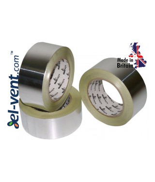 Aluminum foil tape AS252, thickness 130 µm, 4.8 cm x 45 m, -40 - +120 °C