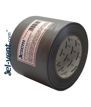 Synthetic rubber based cloth tape AS218, thickness 160 µm, 9.6 cm x 50 m, -10 - +75 °C