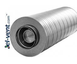Vent duct silencers