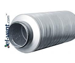 Silencer TS-50-160-900, Ø160 mm