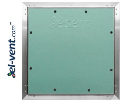 AluEco Flex - access panels with surrounding rubber lip seal