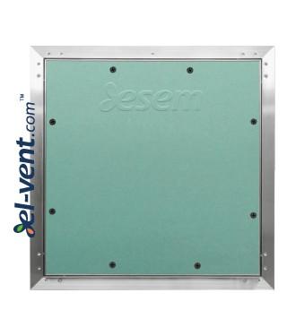 AluEco Flex - revizinės durelės su gumine tarpine