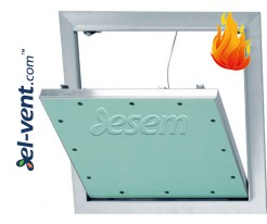Fire rated access panels AluStar Fire W EI30 EI60 EI90 EI120