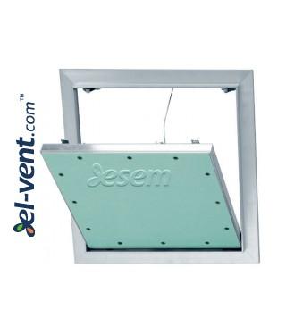 AluStar D - dvigubo gipso kartono revizinės durelės