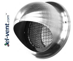 Наружные вентиляционные решетки из нержавеющей стали GL INOX