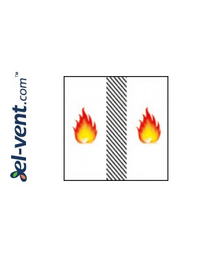 Fire rated access panels Fire Star ES Slot In EI30 - fire resistance