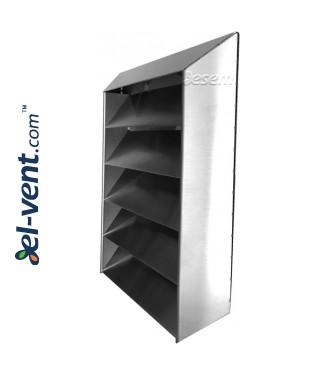 Наружные вентиляционные решетки INOX 5L