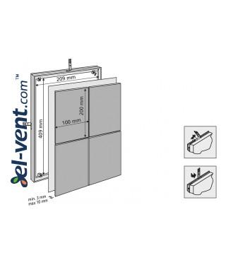 Tile access panels MAGNA - 80712