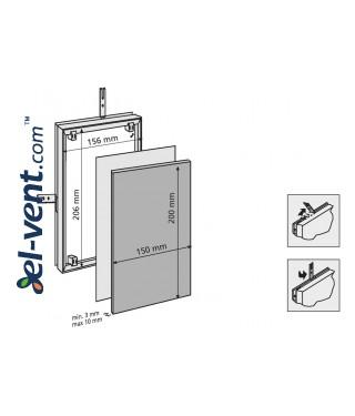 Tile access panels MAGNA - 80721