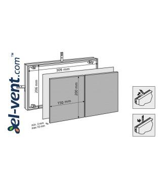 Tile access panels MAGNA - 80722