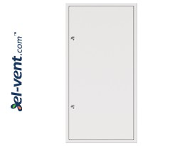 PRIMUS W square lock - big size access panels with square lock for wall application
