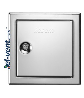 Softline INOX access panels - polished
