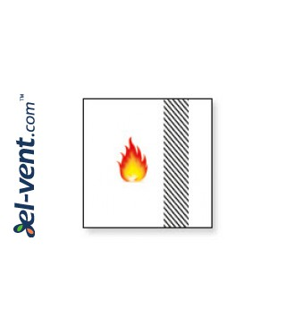Fire rated access panels Fire Star ES Slot In EI60 - fire resistance
