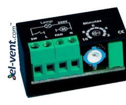 Laikmatis ventiliatoriui EVTR-1, 2-10 min., 1.5 A
