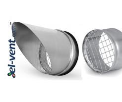 Galvanized vent covers