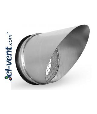 Air vent cover EGL45/250, Ø250 mm