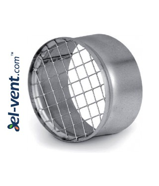 Air vent cover EGLT125, Ø125 mm