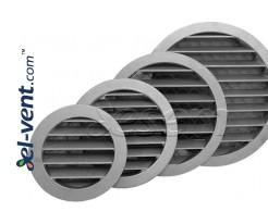 Aluminum ventilation grille AG ALU