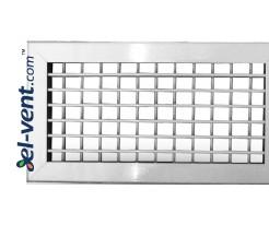 Aluminum ventilation covers adjustable