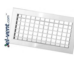 Aluminum ventilation grilles adjustable GRB