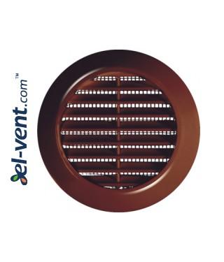 Вентиляционные решетки GRT75, Ø70/95 мм - коричневые