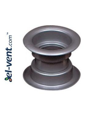 Door ventilation grille GRT14, 2 pcs., 40x55 mm, 7