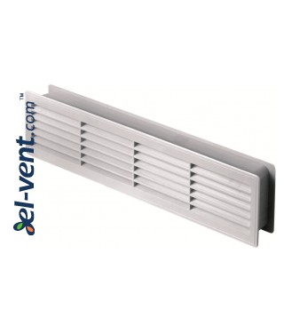 Дверные вентиляционные решетки, белые