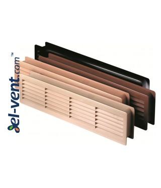 Вентиляционные решетки для дверей GRT15, 2 шт., 135x460 мм