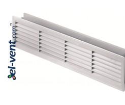 Ventiliacinės grotelės durims GRT15, 2 vnt., 135x460 mm