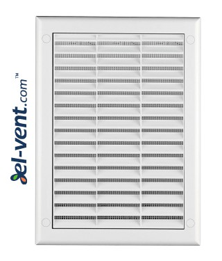 Ventilation grille 190x260 mm with shutter GRTK4