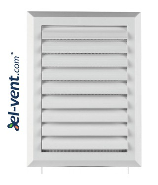 Ventilation grille with shutter GRT41, 175x235 mm - image