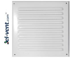 Metalinės ventiliacinės grotelės META8B 250x250 mm