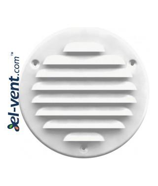 Metal vent cover META16B Ø125 mm