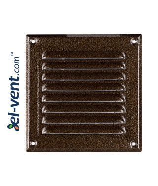 Metal vent cover META6AN 195x195 mm