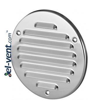 Stainless steel ventilation grille META14N Ø100 mm