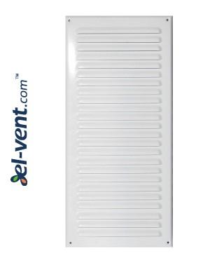 Вентиляционная решетка металлическая META12B 125x295 мм